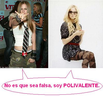 Avril Polivalente Lavigne