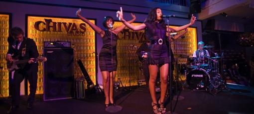 Solange Knowles durante su actuación