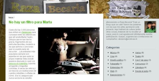 Captura entrevista Marta Castro (Kahlo de Dadanoias)